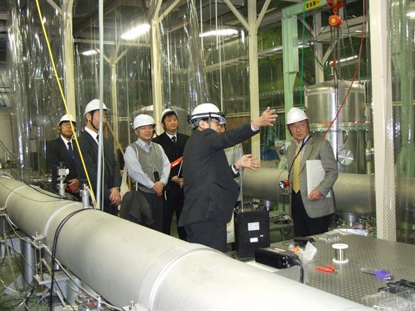 The President of Toyama University visited CLIO.1