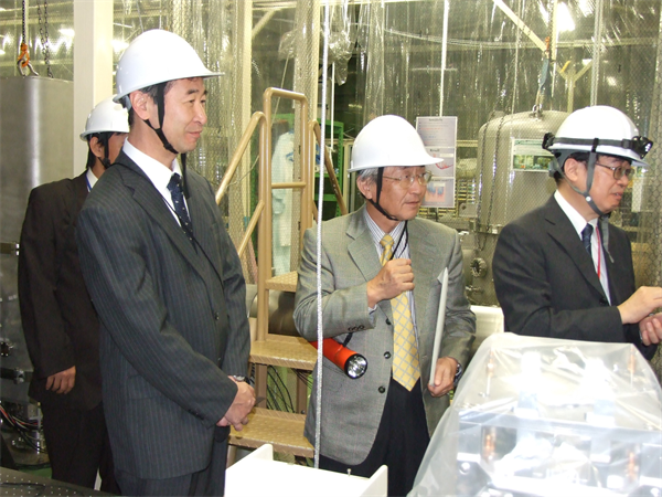 The President of Toyama University visited CLIO.2