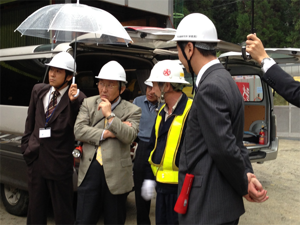 The President of Toyama University visited CLIO.3